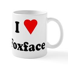 I Heart Love Foxface Mug