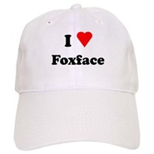 I Heart Love Foxface Baseball Cap