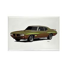 1970 GTO Judge Granada Gold Rectangle Magnet