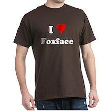 I Heart Love Foxface T-Shirt