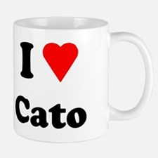 I Heart Love Cato Mug