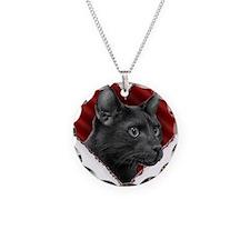 Havana Brown Heart Necklace