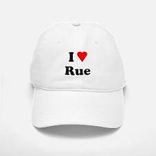 I Heart Love Rue Baseball Baseball Cap