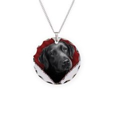 Labrador Retriever Valentine Necklace