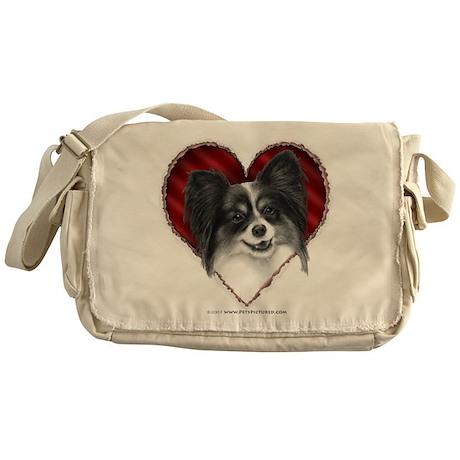 Papillon Valentine Messenger Bag