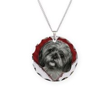 Shih Tzu Valentine Necklace