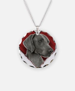 Weimeraner Valentine Necklace
