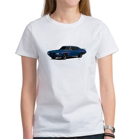 1970 GTO Judge Bermuda Blue Women's T-Shirt