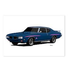 1970 GTO Judge Bermuda Blue Postcards (Package of