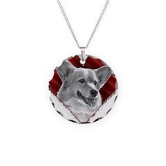 Welsh Corgi Heart Necklace