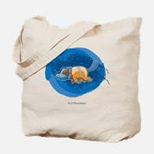Platypus in Space Tote Bag