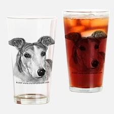Zoie, Greyhound Drinking Glass