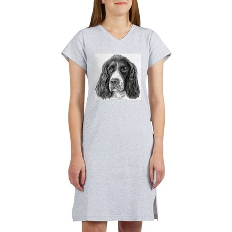 English Springer Spaniel Women's Nightshirt