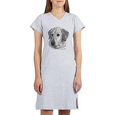 Yellow Labrador Retriever Chr Women's Nightshirt
