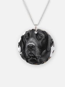 Diesel, Black Lab Necklace
