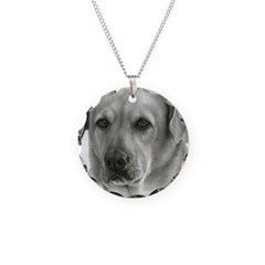 Lindsay - Yellow Lab Mix Necklace