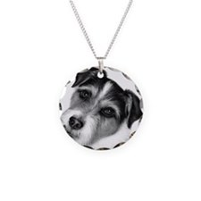 Jack (Parson) Russell Terrier Necklace Circle Char