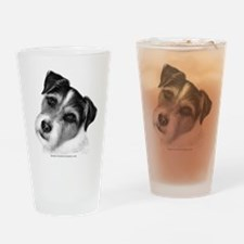 Jack (Parson) Russell Terrier Drinking Glass