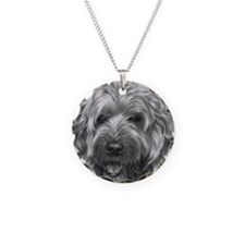 Bailey, Soft-Coated Wheaten Necklace