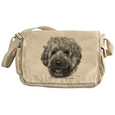 Bailey, Soft-Coated Wheaten Messenger Bag