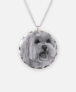 Sadie, Maltese Necklace