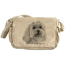 Sadie, Maltese Messenger Bag