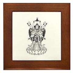 Goddess Of Mercy Framed Tile