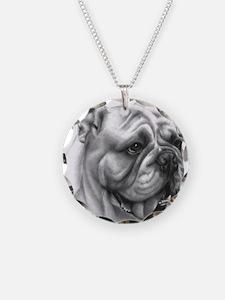 English Bulldog Necklace