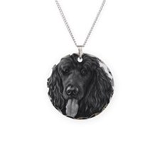 Shadow, Standard Poodle Necklace