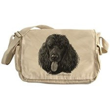 Shadow, Standard Poodle Messenger Bag