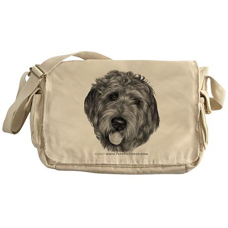Labradoodle Messenger Bag