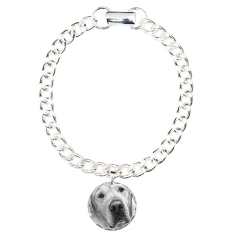 Max, Lab-Bull Terrier Mix Charm Bracelet, One Char