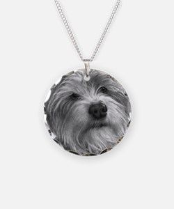 Biscuit, Shih Tzu-Terrier Necklace