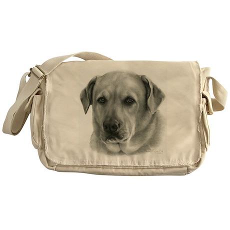 Lindsay, Lab Mix Messenger Bag