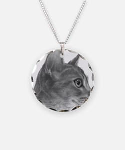 Abysinnian Cat Necklace