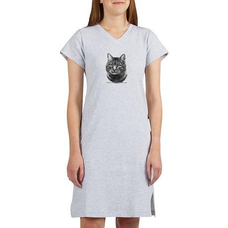Tiger Cat Women's Nightshirt