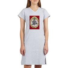 Weimeraner Christmas Women's Nightshirt