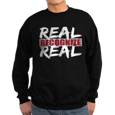 Real Recognize Real Sweatshirt (dark)