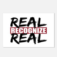 Real Recognize Real Postcards (Package of 8)