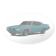 1970 GTO Judge Mint Turquoise Decal