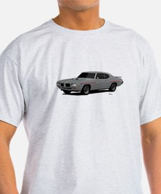 1970 GTO Judge Palladium Silver T-Shirt