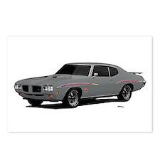 1970 GTO Judge Palladium Silver Postcards (Package