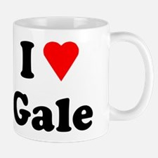 I Heart Love Gale Small Small Mug