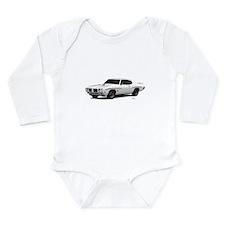 1970 GTO Judge Polar White Long Sleeve Infant Body