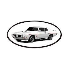1970 GTO Judge Polar White Patches