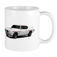 1970 GTO Judge Polar White Mug