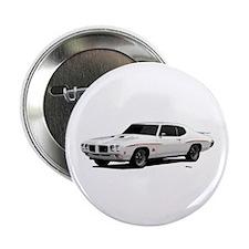 "1970 GTO Judge Polar White 2.25"" Button"