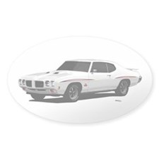 1970 GTO Judge Polar White Decal
