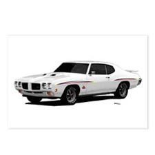 1970 GTO Judge Polar White Postcards (Package of 8