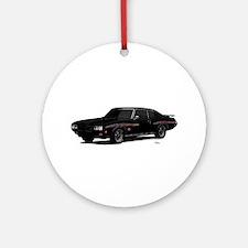 1970 GTO Judge Starlight Black Ornament (Round)